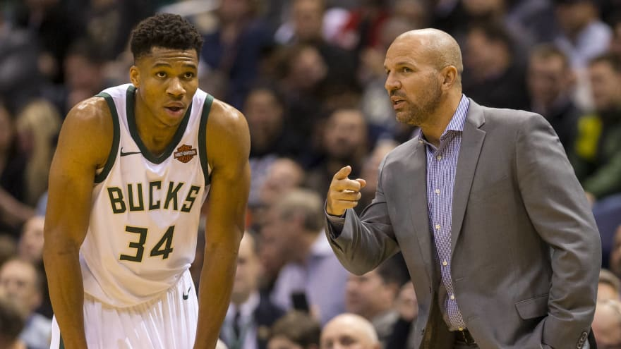 Jason Kidd hire a way for Lakers to pitch Giannis Antetokounmpo?