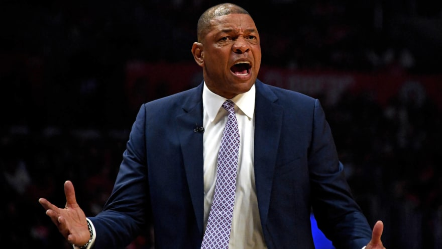 NBA fines Doc Rivers $50K for tampering with Kawhi Leonard