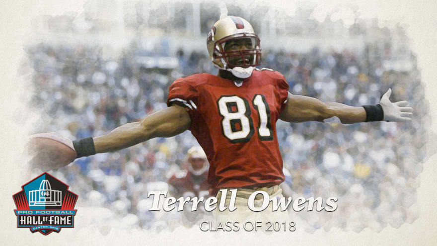 low priced 554b8 6a4bc Terrell Owens was an NFL success story overshadowed by ...