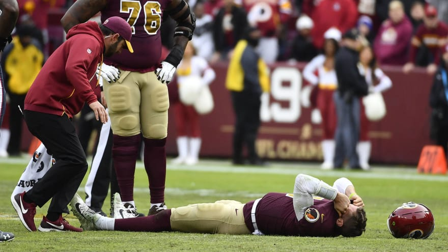 Washington QB Alex Smith suffers horrible leg injury