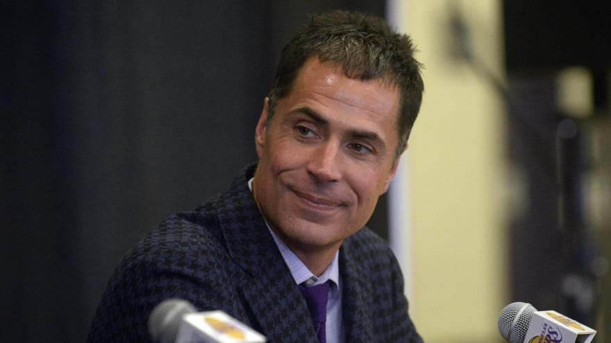 Lakers GM Rob Pelinka: No. 4 pick a 'powerful asset for us'