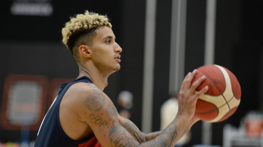 Kyle Kuzma makes his case for a final roster spot with Team USA