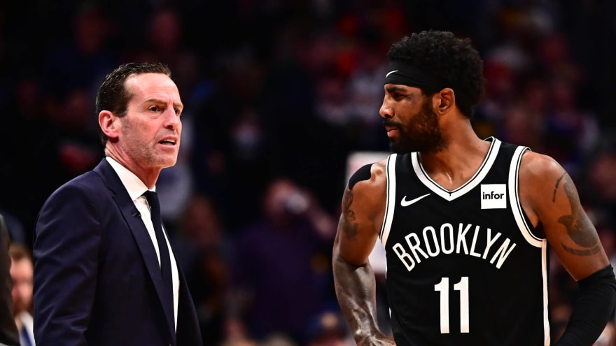 Nets coach Atkinson hopes Kyrie can practice in a week