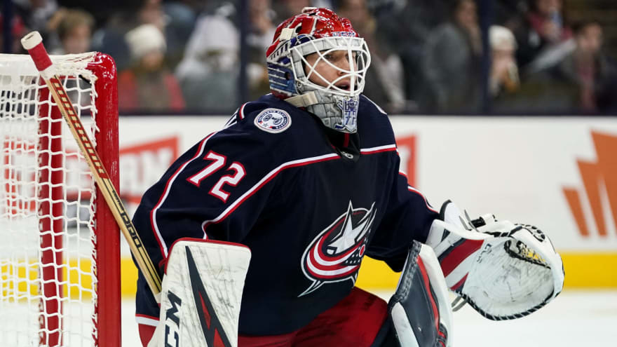 Sergei Bobrovsky wouldn't be interested in being traded to Calgary