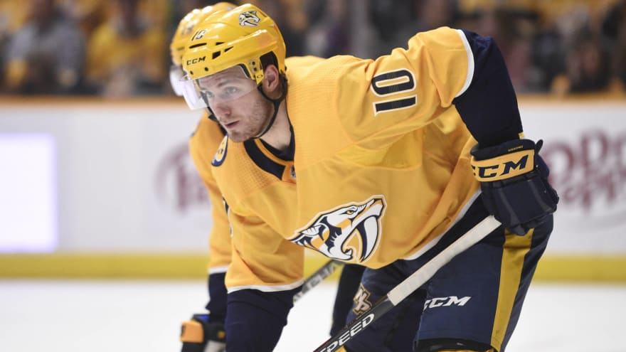 Colton Sissons signs seven-year deal with Nashville