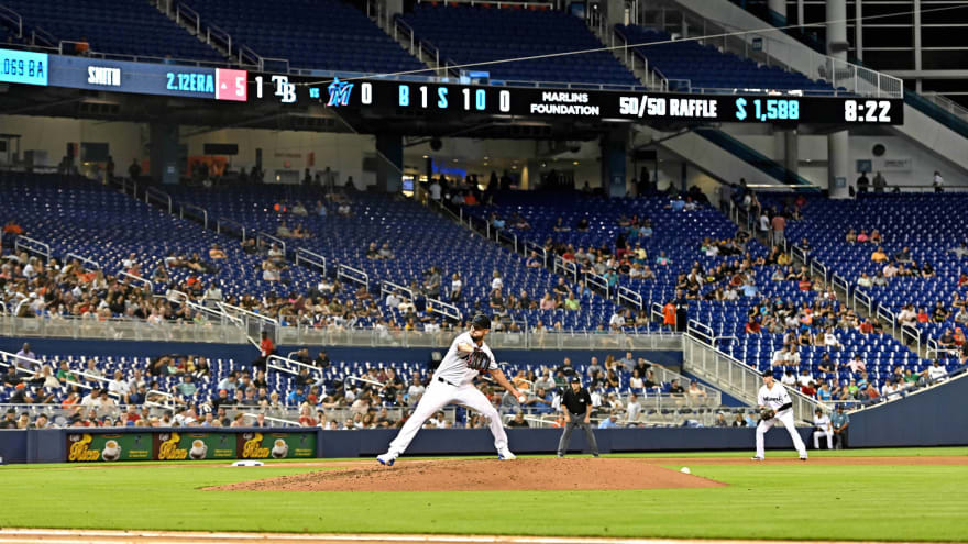 Rays-Marlins attendance was one of the saddest sights in baseball