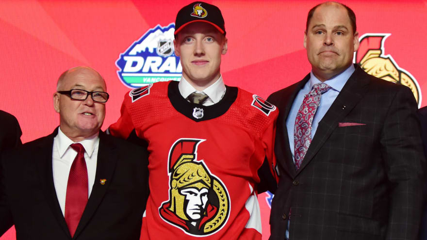 Senators sign first-round pick Lassi Thomson to three-year, entry-level contract