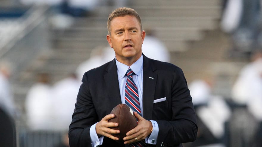 Kirk Herbstreit hits back at those attacking Michigan WR for drop