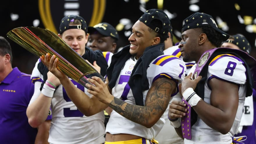 LSU reschedules classes to make up for national championship celebration