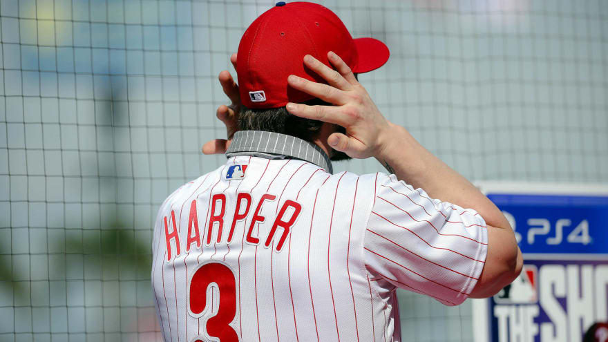 cb183cf62 Phillies team store ran out of letter Rs amid Bryce Harper jersey frenzy