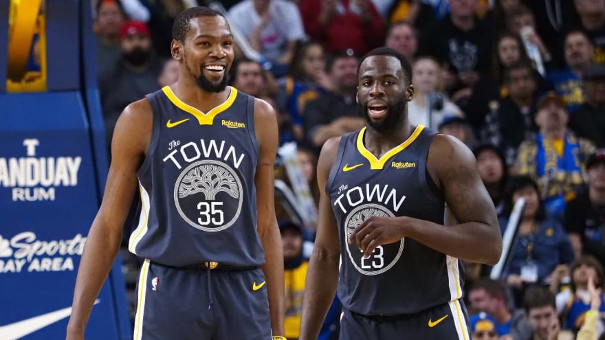 Warriors' Draymond Green talks about Kevin Durant's departure for Brooklyn