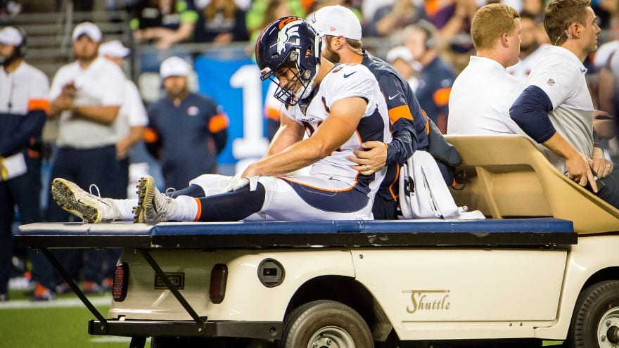 8a8f0a35 Undrafted Broncos TE Austin Fort, turning heads at camp, done for ...