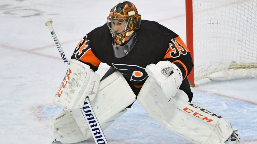 Flames sign former All-Star goalie Cam Talbot to one-year, $2.75M deal