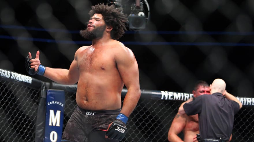 Look: UFC fighter Juan Adams ate a ridiculous amount of sweets after making weight