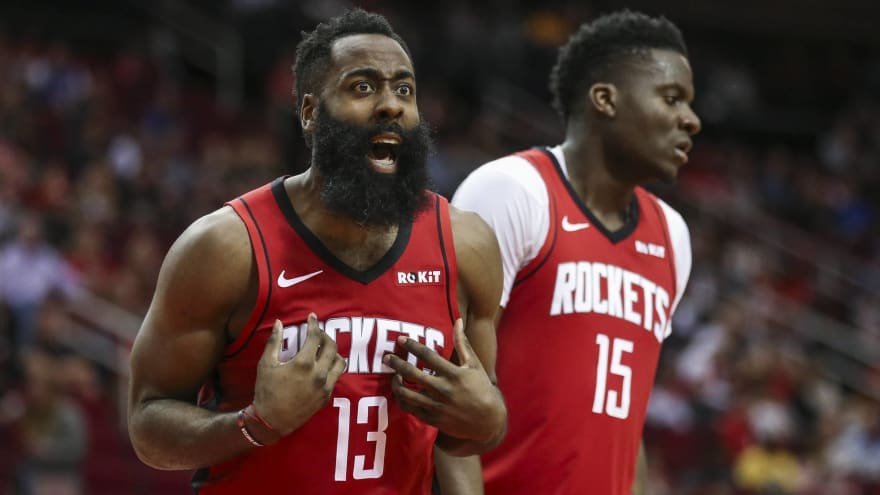 James Harden on prospect of in-season tourney: 'Are we in college?'