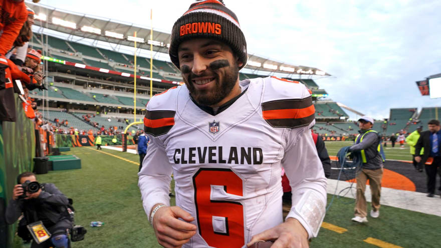 207791ef9 Impressive stat shows just how good Mayfield has been since Jackson firing