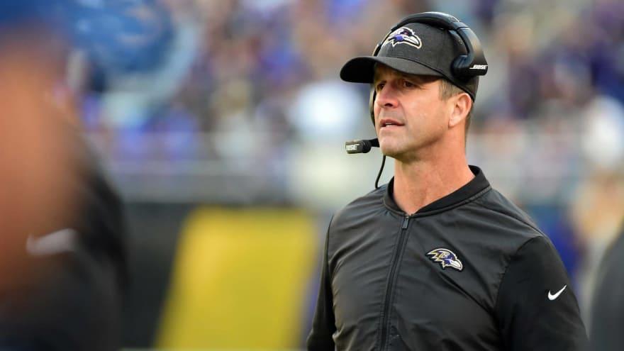 3593bfcda9c Report  Ravens may try to trade John Harbaugh
