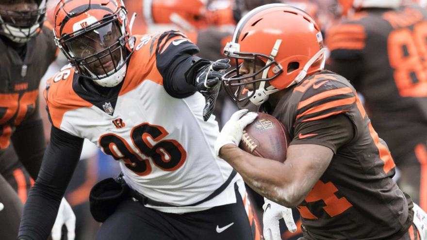 51659f3e93a Nick Chubb breaks Browns' franchise rookie rushing mark | Yardbarker