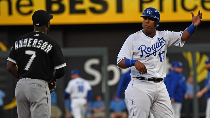 Benches Clear As Sal Perez Tim Anderson Exchange Words On
