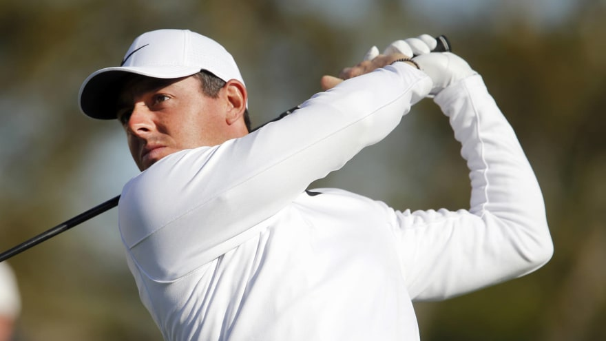 Mar 16, 2018; Orlando, FL, USA; Rory McIlroy hits his drive on the 15th hole during the second round of the Arnold Palmer Invitational golf tournament at ...
