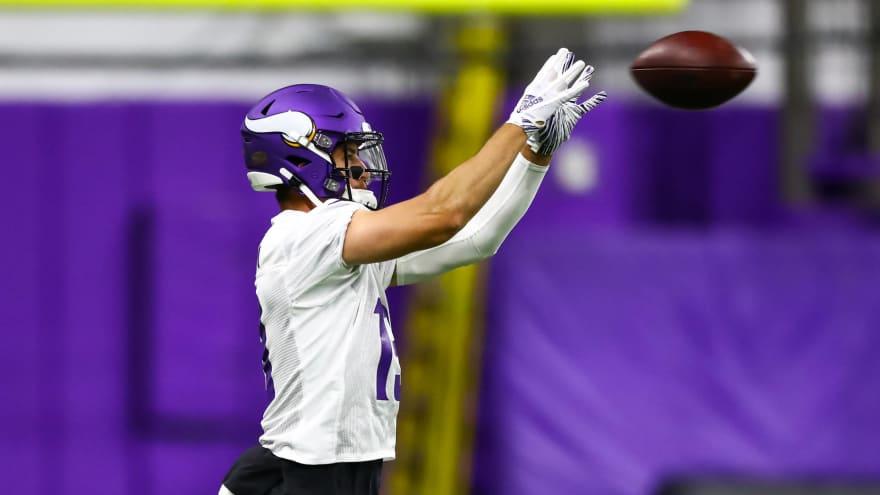 Watch: Vikings WR Adam Thielen makes absurd catch at 1-yard line