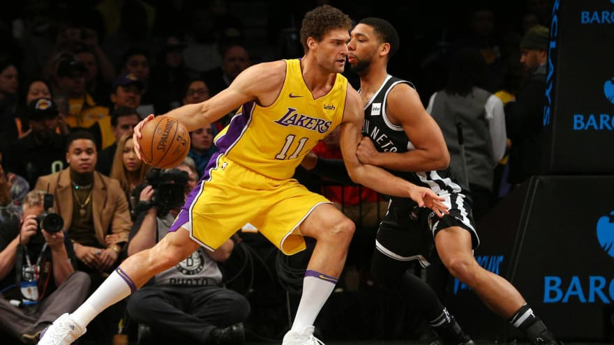 online store 57eec 48ae7 Lakers reportedly have no plans for Brook Lopez buyout ...