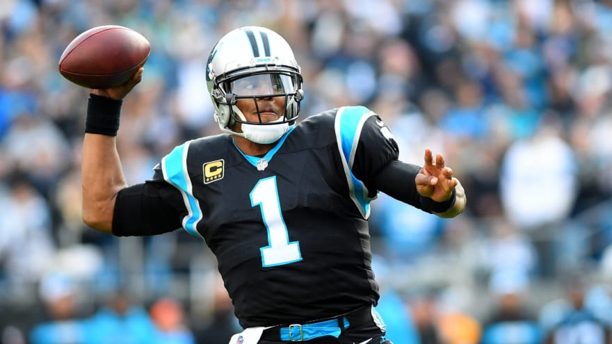 Panthers owner discusses Cam Newton injury