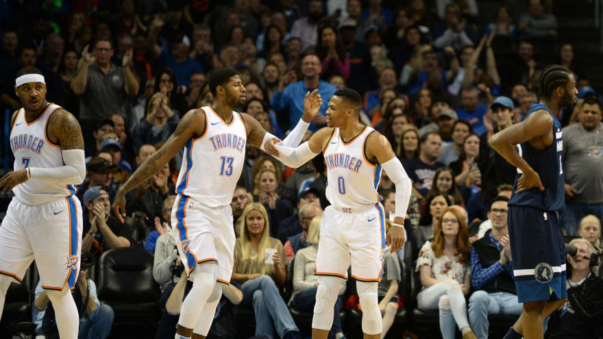 Russell Westbrook Paul George All Star Snub Is Outrageous