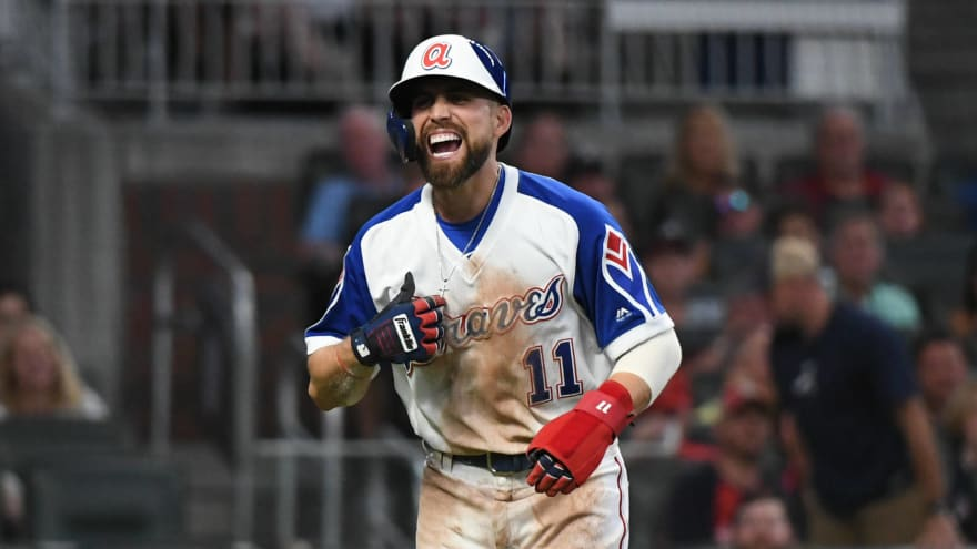 new concept 7da70 dd6d5 Ender Inciarte removed from game with hamstring injury ...