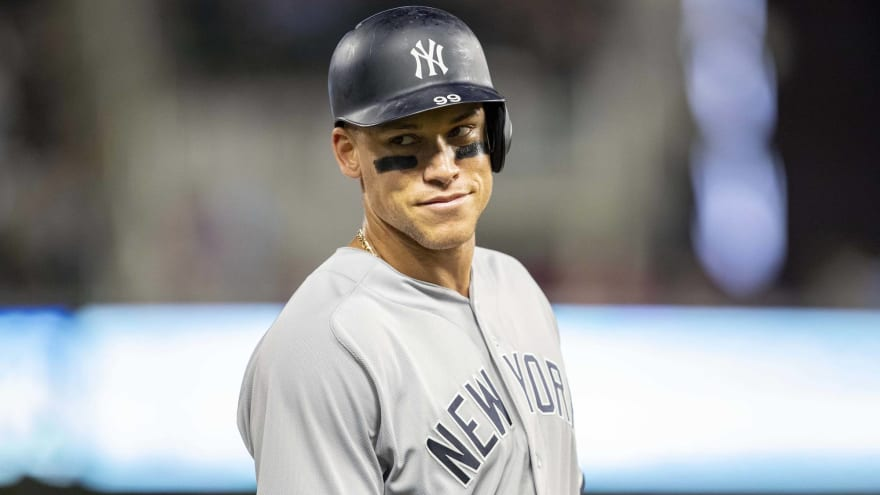 Yankees' Aaron Judge has great comment after collision with wall