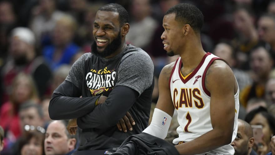 5cf726380 Rodney Hood says playing with LeBron James