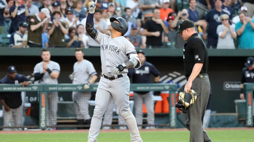 Watch: Orioles announcer has hilarious reaction to Gleyber Torres homer