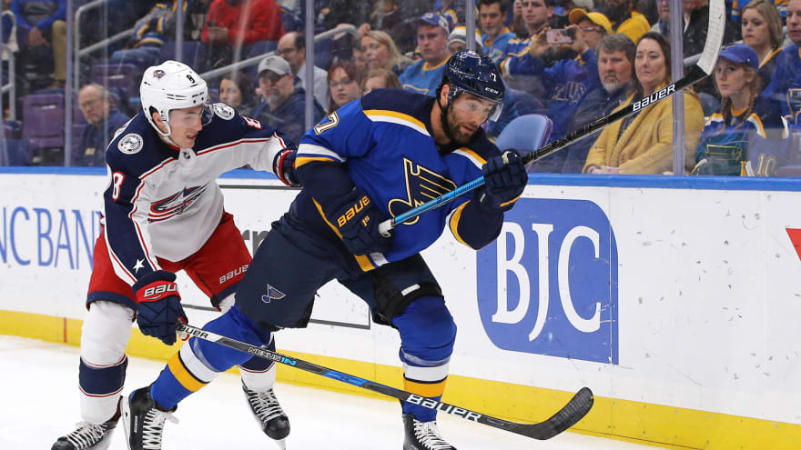 new arrival ef8b8 0b370 Blues' Patrick Maroon likely to be traded by league deadline ...