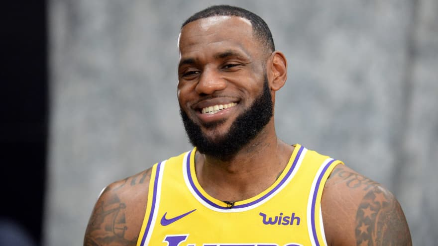 40fb696fc LeBron James is impressed with Lonzo Ball s recovery
