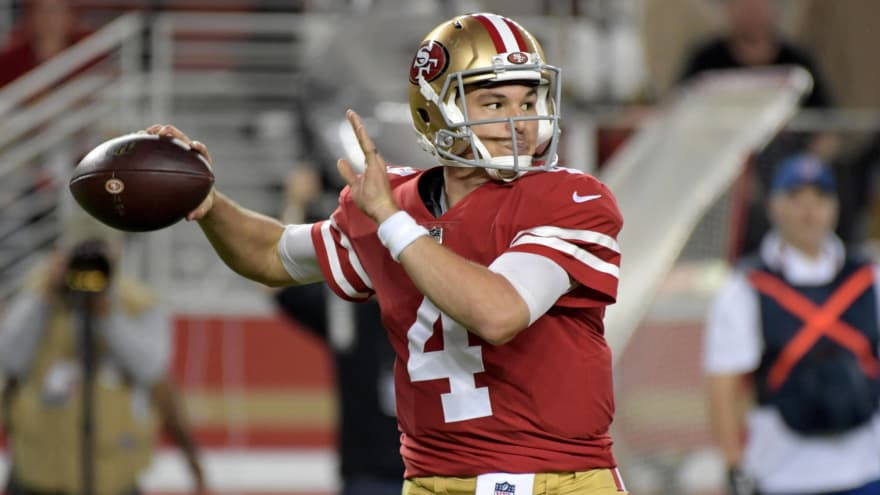 release date 1be1c 8f84c Wikipedia calls Nick Mullens owner of the Raiders after hot ...