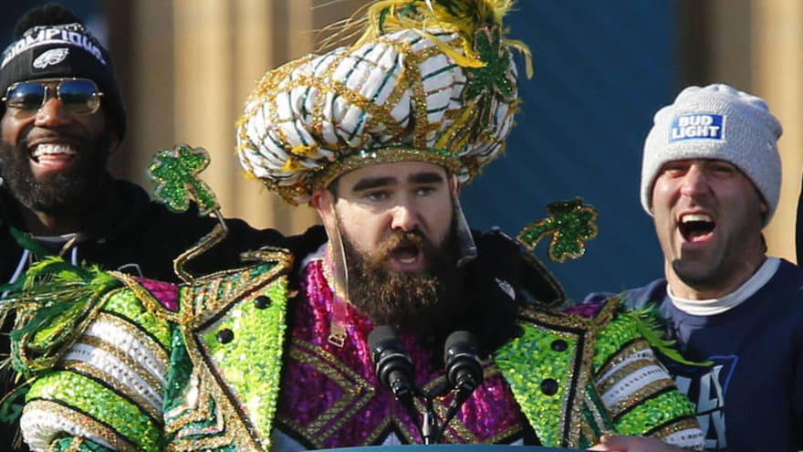 847f0a1ff Jason Kelce Super Bowl parade bobblehead now for sale