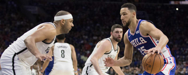 1d6d25fbaeb Ben Simmons claps back at Jared Dudley, who called him 'average'