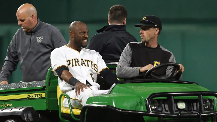 Pirates place Starling Marte on IL with abdominal wall contusion