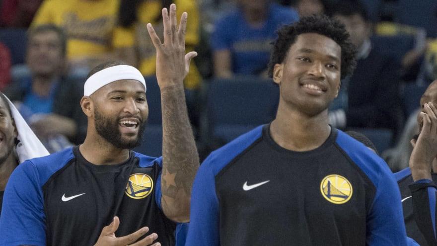 721d75bb6f9 Warriors' DeMarcus Cousins, Damian Jones could return for playoffs ...
