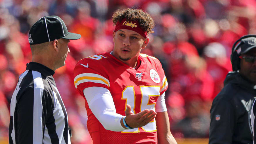 Patrick Mahomes Re Aggravates Ankle Injury Against Texans