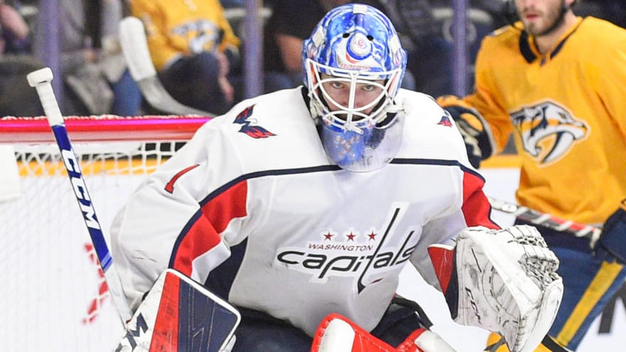 Capitals place backup netminder Pheonix Copley on waivers