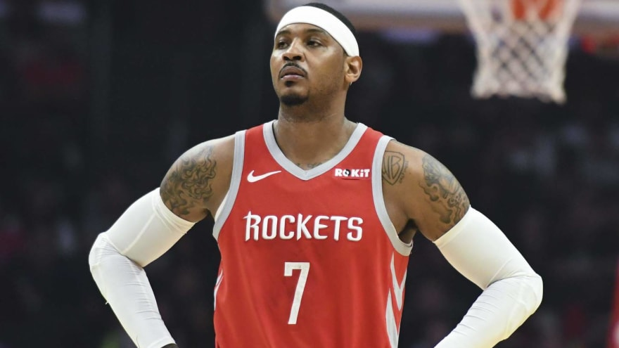Is Carmelo Anthony victim of smear campaign from NBA execs?