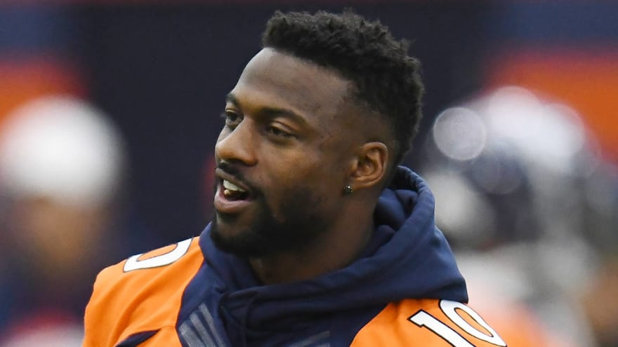 Broncos counting on Emmanuel Sanders to reprise role as key starter