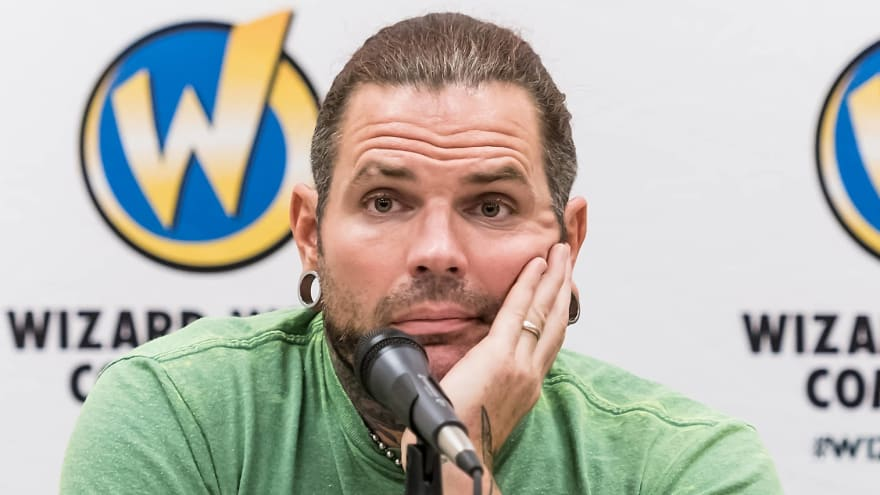 WWE star Jeff Hardy arrested for public intoxication in Myrtle Beach