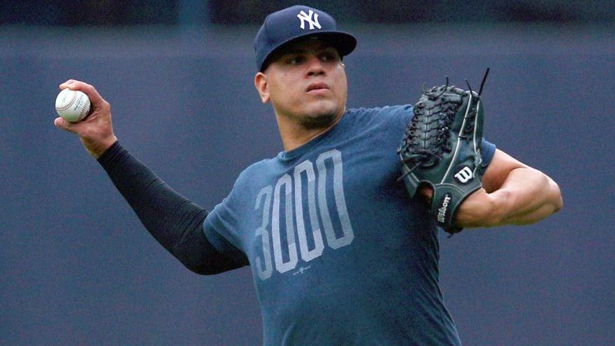Yankees All-Stars Dellin Betances, Luis Severino throw off mound on Thursday