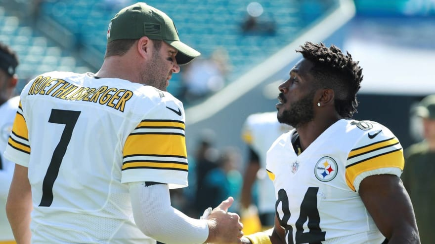 With Brown out of way, Steelers' Roethlisberger must be electric in 2019