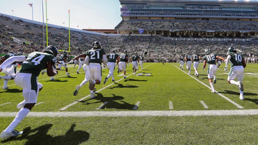 Michigan State blows game after having 12 men on the field