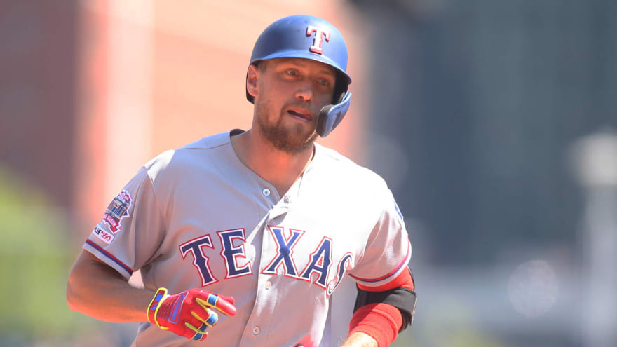 Rangers All-Star Hunter Pence could return this weekend