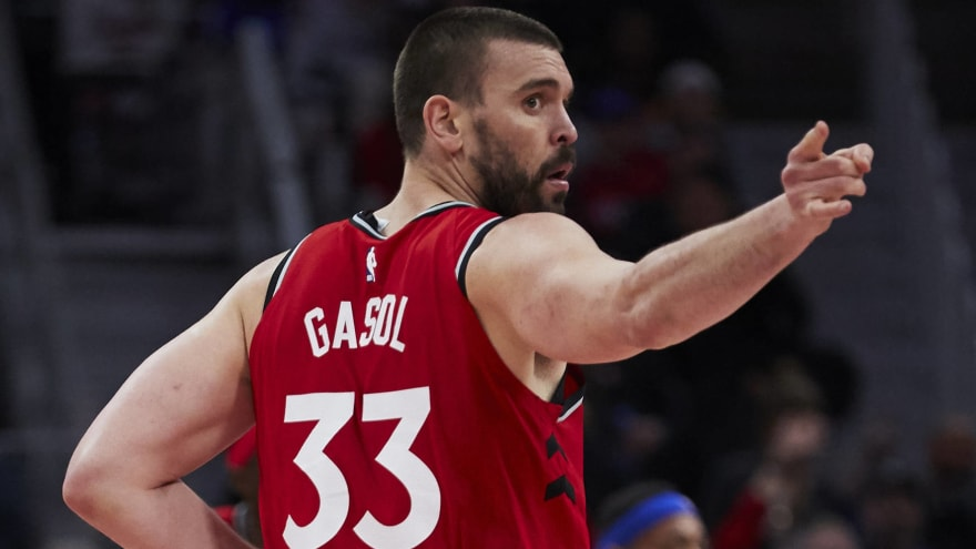 Marc Gasol picks up $25.6M player option to stay with Raptors in 2019-20