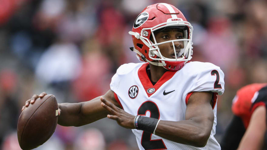 Georgia QB D'Wan Mathis recovering from surgery to remove cyst on brain